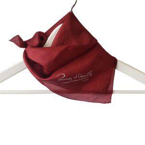 Vintage Rémoy d'Urville silk scarf